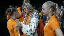 Королева Нидерландов была в вышиванке на Олимпиаде в Рио