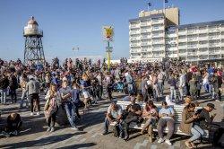 Морской курорт Нидерландов в опасности