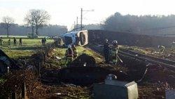 ЧП в Голландии: поезд сошел с рельс