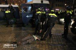 На территории города Гаага 166 человек задержаны во время акции против полицейского насилия