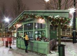 Новогодний базар в Нидерландах