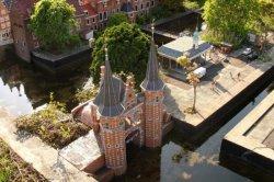 Голландия в миниатюре представлена в парке Мадюродам