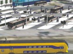 В Голландии разработан проект подзарядки электробусов от энергии торможения поездов