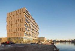 Patch 22 – самый высокий деревянный многоэтажный дом в Нидерландах