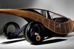 Голландские студенты создали первое авто, состоящее только из биологических материалов