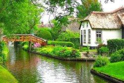 Знакомьтесь: поселок Гитхорн - нидерландская «Венеция»