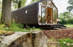 В Голландии создан собираемый за сутки инновационный дом из картона