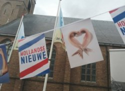 Фестиваль селедки в Нидерландах. Дань традициям