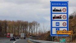 Скоростное ограничение на автобанах в Нидерландах